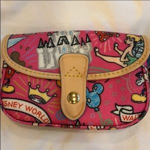 Pink Dooney and Burke Wristlet